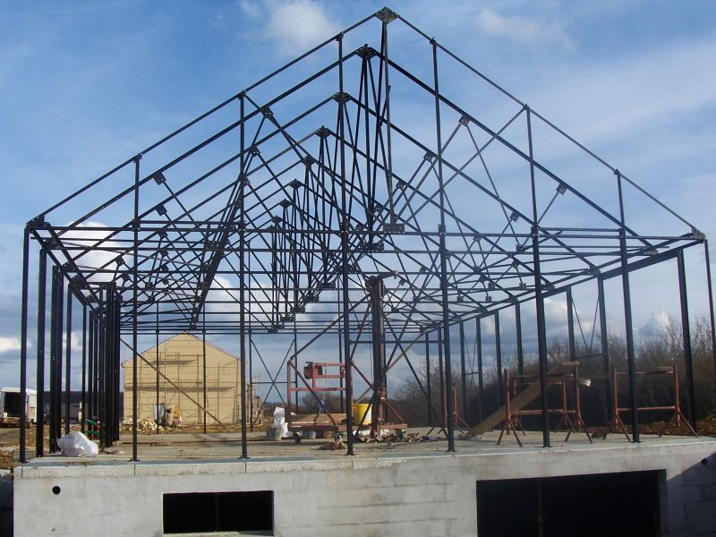 Notre maison performance neuvy en sullias 45 neuvy en sullias loiret - Structure metallique maison ...